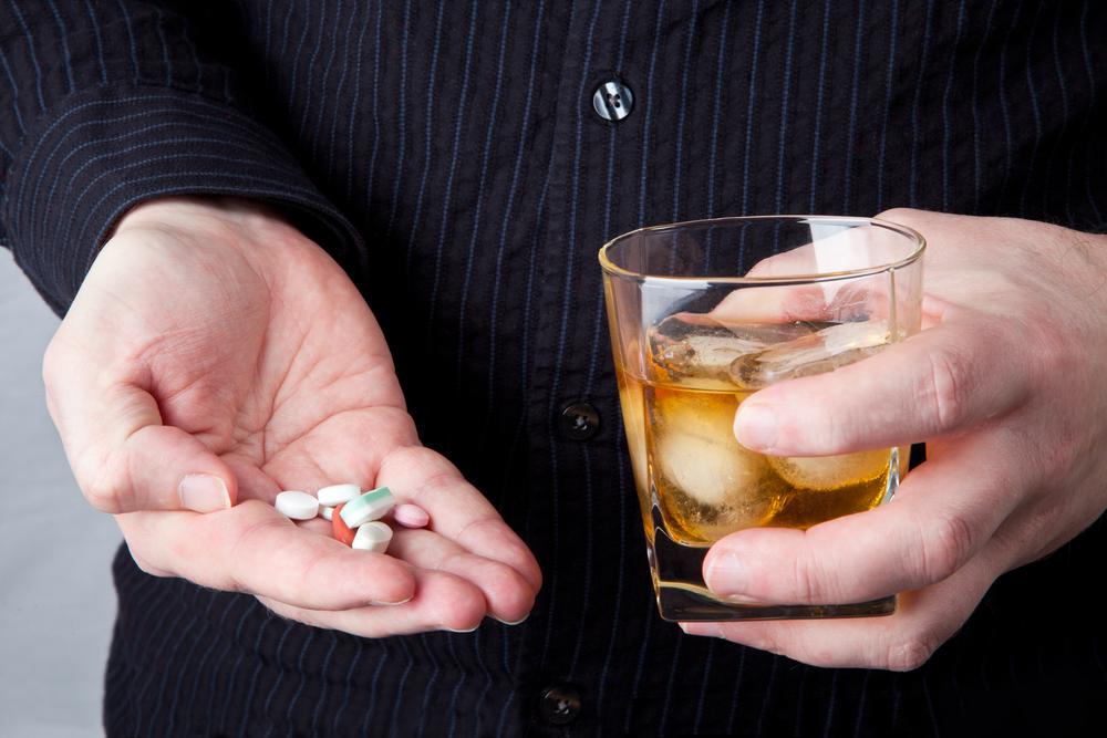 alkohol und tabeltten