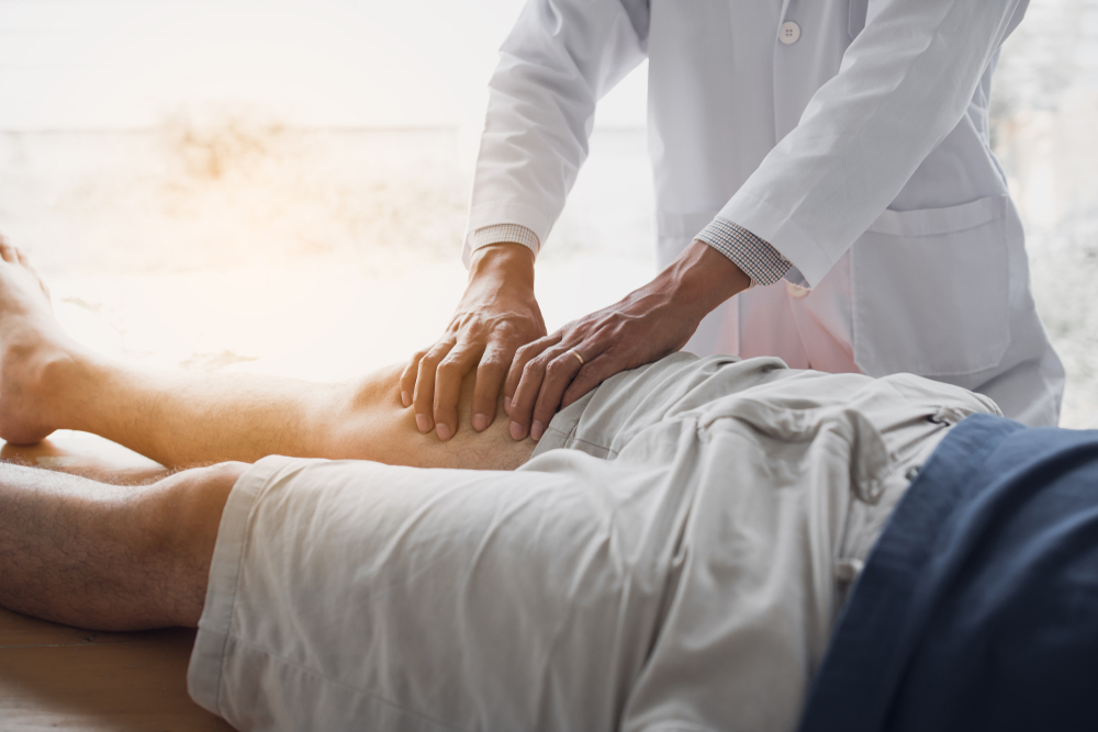 behandlung von oberschenkelschmerzen